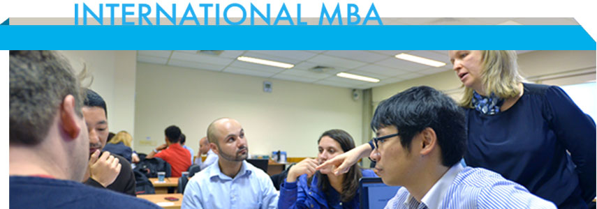 International MBA aula