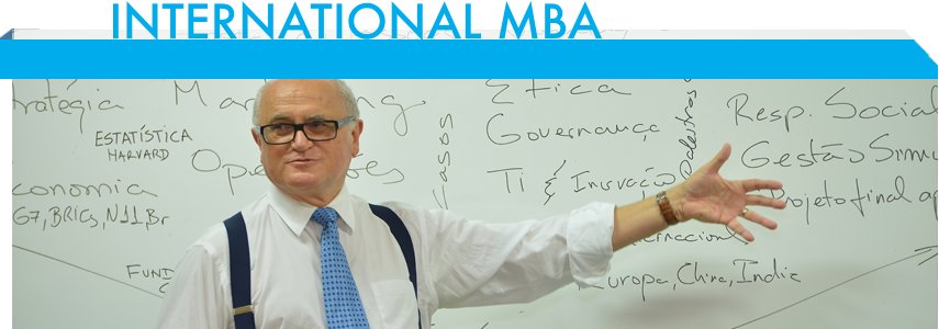 International MBA Meet The Professors Professor Dr. James Terence Coulter Wright