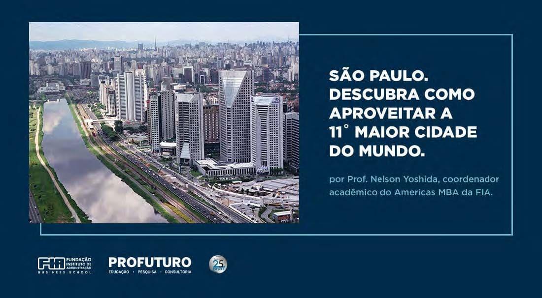 São Paulo: Descubra como aproveitar a 11ª maior cidade do mundo