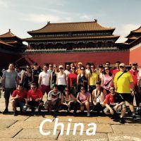 Alunos da FIA na China
