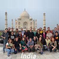 Alunos da FIA na Índia